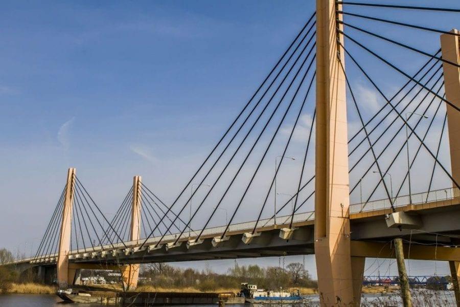 Most Milenijny we Wrocławiu