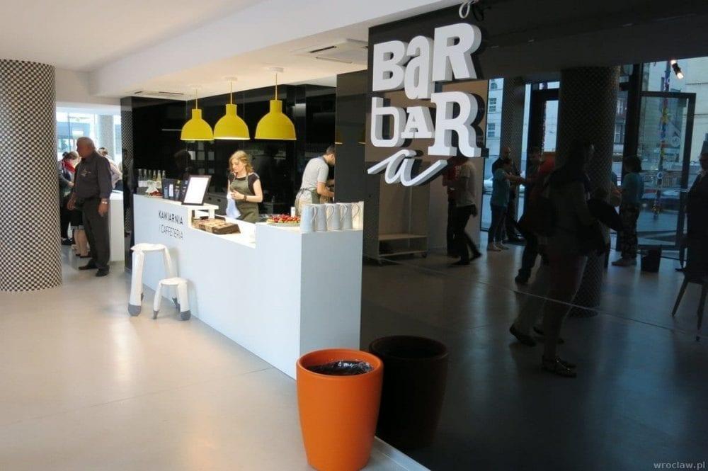 Barbara – infopunkt i kawiarnia we Wrocławiu