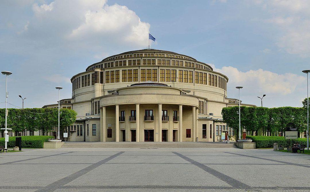 Budowa Hali Stulecia we Wrocławiu