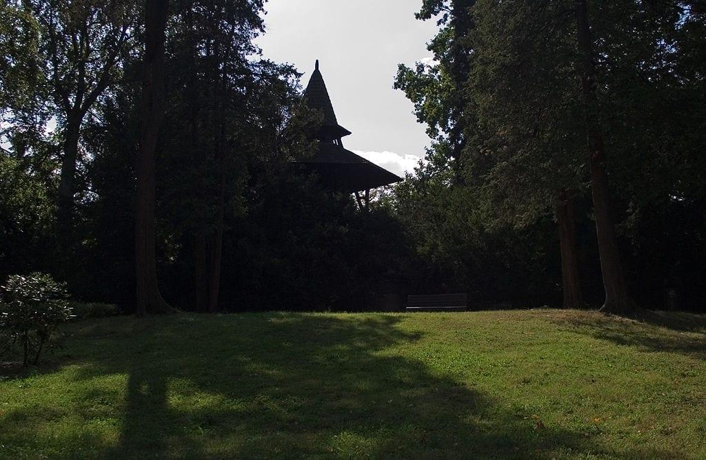Wzgórze Bendera w Parku Południowym we Wrocławiu