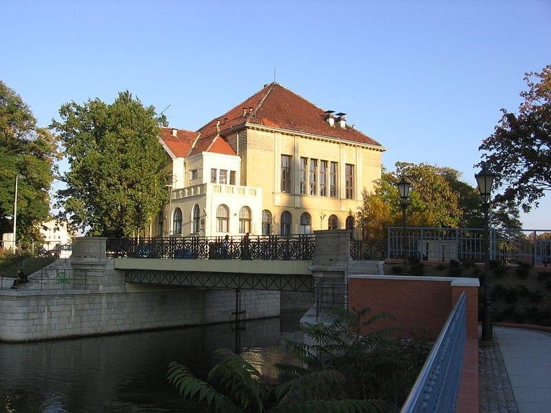 Wrocławskie wyspy: Tamka