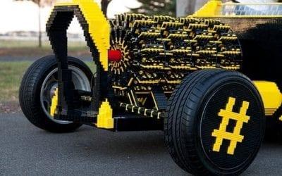 We Wrocławiu można było zobaczyć największą wystawę klocków Lego