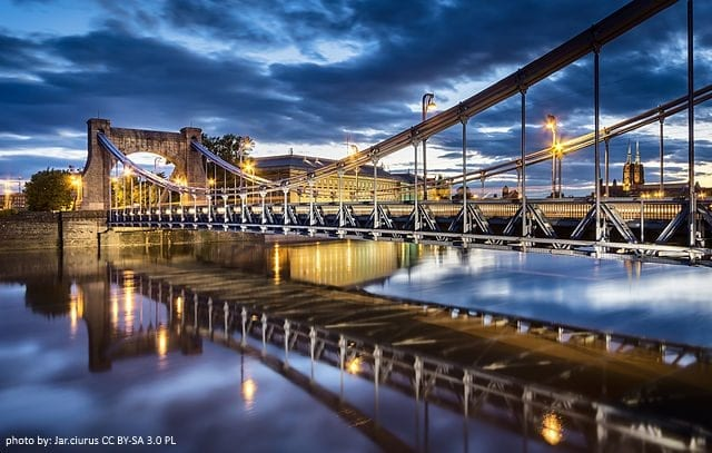 Wrocław miastem mostów