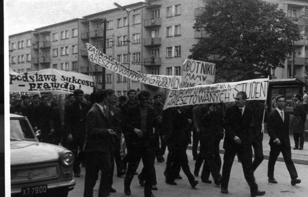 Strajki z marca '68 we Wrocławiu
