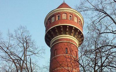 Wieża ciśnień na wrocławskim Brochowie
