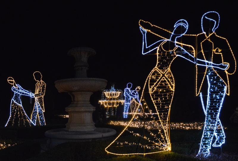 Zimowe iluminacje świetlne we Wrocławiu